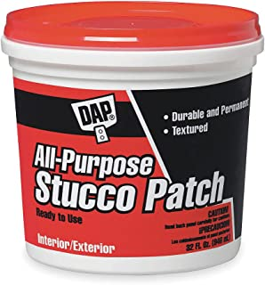 All-Purpose Stucco Patch, 1 gal, White