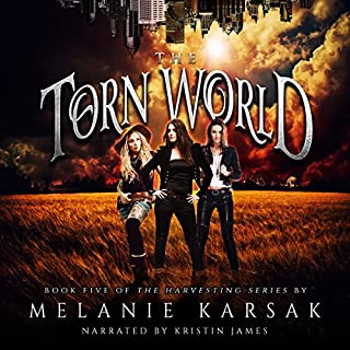 The Torn World audiobook cover art
