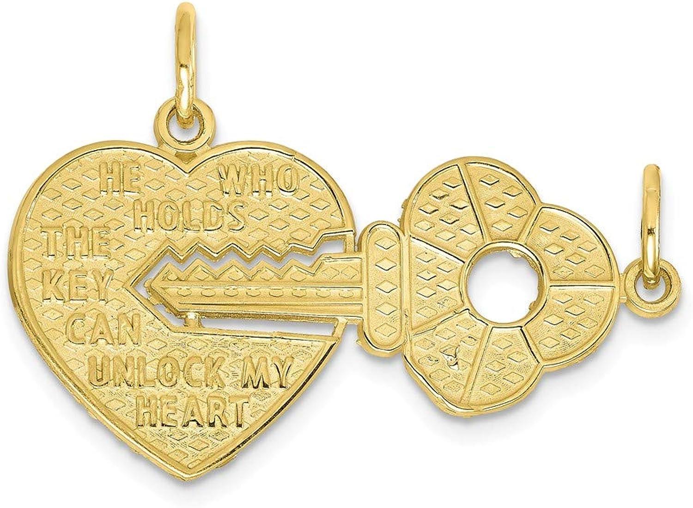 GelbGold 10 K Herz & Schlüssel Charme B06ZXVKRRW B06ZXVKRRW B06ZXVKRRW 1cb0e5