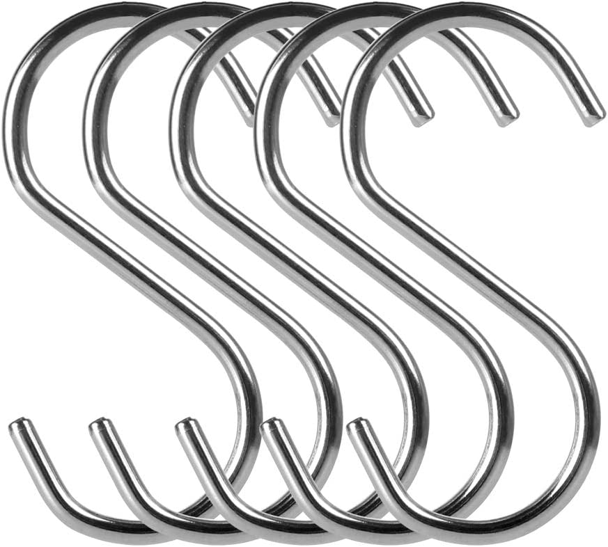 Generic 20 Pack S Boston Mall Shape Hooks Stainless 304 Steel Duty Heavy Met Our shop OFFers the best service