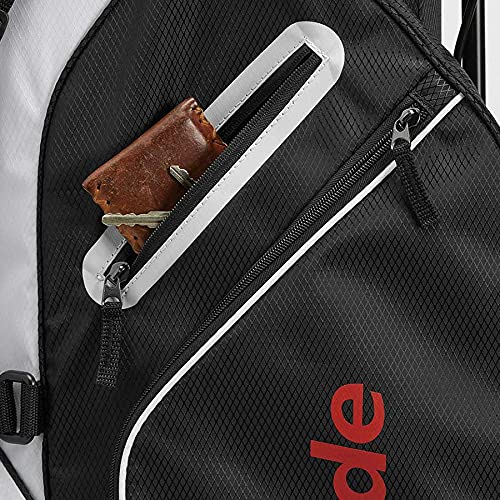 Product Image 3: TaylorMade 5.0 ST Bag, Black/White/Red