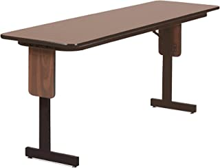 Correll SP1872PX-06 High Pressure Laminate Classroom, Training or Seminar Table with Folding Panel Leg, Rectangular, 18