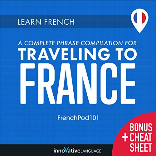 Learn French audiobook cover art