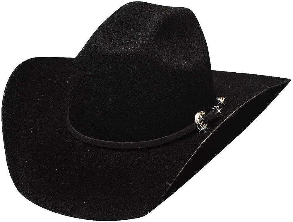 Bullhide Hats 0646Bl Lil' Pardner Fort Worth Mall Cowboy Kingman Black Brand Cheap Sale Venue Youth Jr.