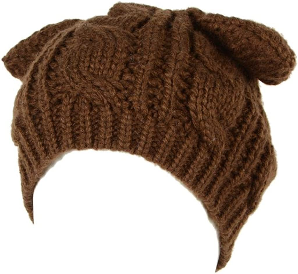 PERSUN Women's Cute Soft Stretch Super intense SALE Hat Knit Beanie Super intense SALE Cable