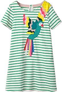 LNKXRTY Kids Cotton Dresses Girls Cute Cartoon Skirt Dress Hooded Dress 2-7T