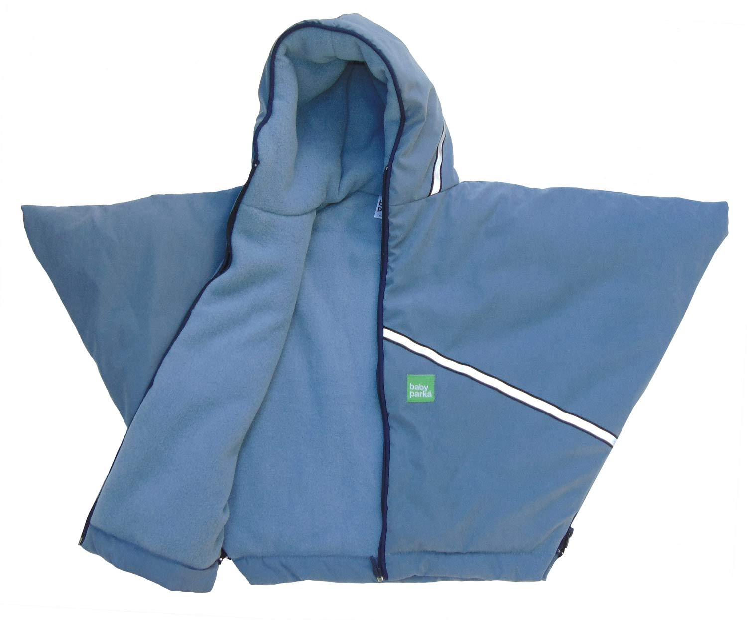 Baby Parka Toddler Car Seat Cover/Coat, Blue