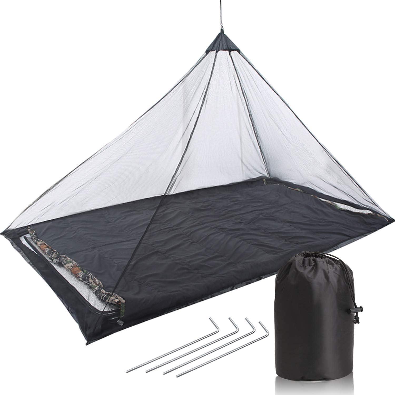 TOBWOLF Hammock Net Mosquito Lightweight Outdoor Finally popular brand Compact Max 59% OFF