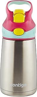 Contigo Autospout Striker Chill兒童不銹鋼水杯 10盎司 櫻花粉