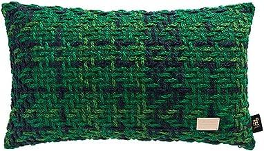 LF- Household Cushion Cotton Comfortable Material Light Luxury Lattice Sofa Pillow Removable Sofa Cushions Grey Cushions C...