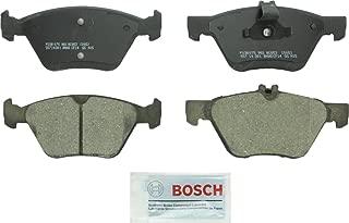 Bosch BC853 QuietCast Premium Ceramic Disc Brake Pad Set For Chrysler: 2004-08 Crossfire; Mercedes-Benz: 1998-99 E300, 1996-03 E320, 2007-09 E350, 1998-02 E430, 2001-04 SLK320; Front