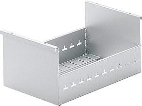 Hettich 9011502 Systema TOP 2000 indexdoos, formaat A4 dwars, aluminium afwerking, zilver