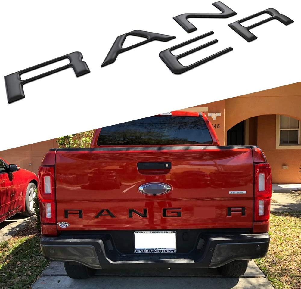 3D Raised Strong Adhesive Tailgate New item Letters Insert 2019- For Time sale Fits