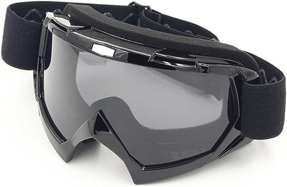 Schutzbrille Motorradbrillen Motocross Dirtbike Fahrrad Wind Staubschutz Fliegerbrille Snowboardbrille Brille Sport Freizeit