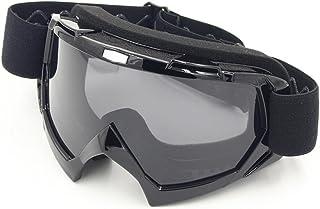 Spohife Motorradbrillen, Motocross Dirtbike Fahrrad Off-Road Schutzbrille Motorrad Goggles Crossbrille Sportbrille Wind Staubschutz Fliegerbrille Snowboardbrille Brille, Winddicht Staubdicht