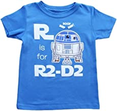 Little Boys' Star Wars R Is For R2d2 T-Shirt