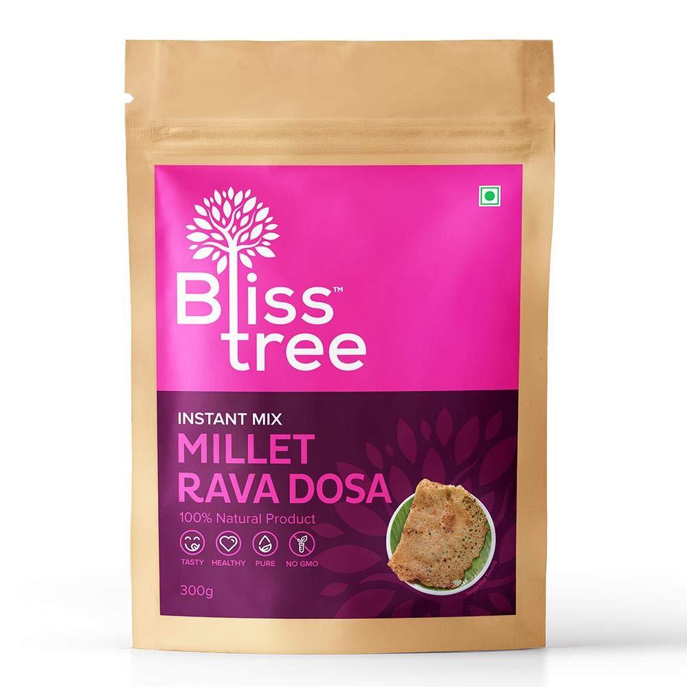 Save money 40% OFF Cheap Sale Bliss Tree - Millet Rava Dosa packs Mix 50 servings 10
