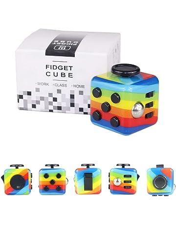 Figit giocattolo CUBO dodecagono 12 Fidget funzioni ogni giorno portano Palm guarire gadget