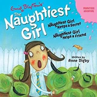 'Naughtiest Girl Keeps a Secret' and 'Naughtiest Girl Helps a Friend' cover art
