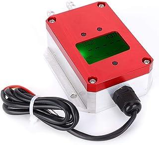 LCD Air Pressure Sensor Intelligent Digital Air Transmitter DC 24V 4-20mA Air Tester in Hospital Ward Ventilation,Petroleu...