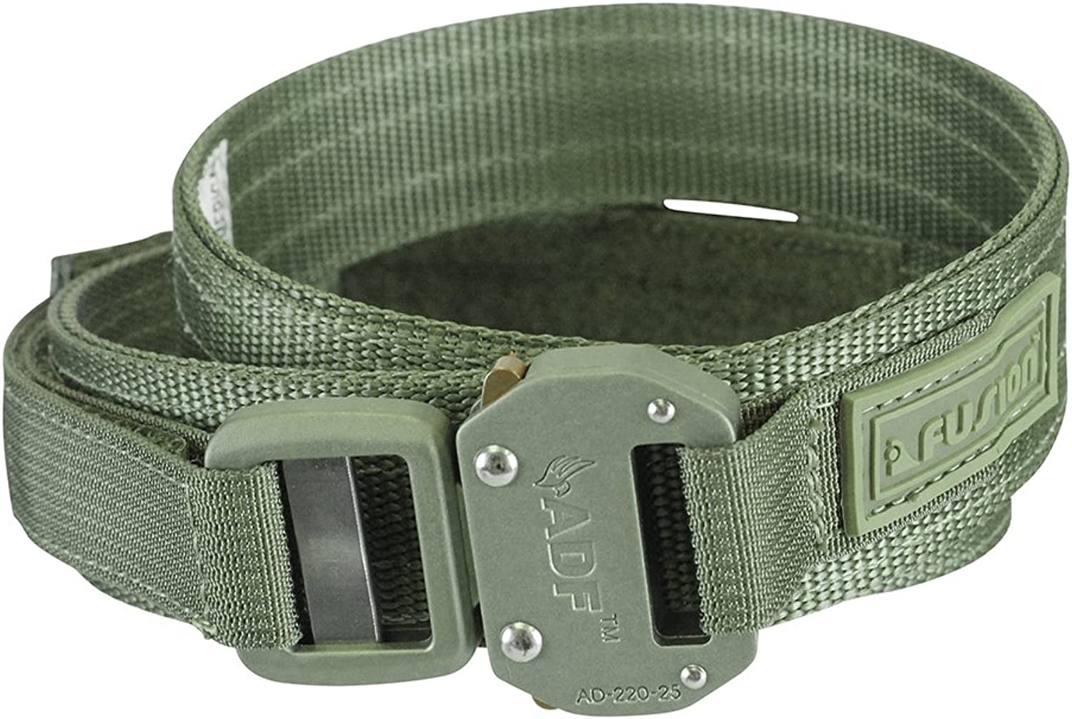 Fusion Tactical Military Police Trouser Belt Generation II Type C Foliage Green XLarge 4348  1.5 Wide