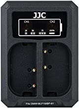 JJC USB Dual Battery Charger for Panasonic GH5s GH5 GH4 GH3  Sigma Quattro  Quattro Cameras Replaces Panasonic DMW-BLF19 Sigma BP-61