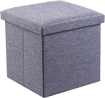 Outstanding Amazon Com Foot Stool Storage Box Cube Pouffe Chair Square Creativecarmelina Interior Chair Design Creativecarmelinacom