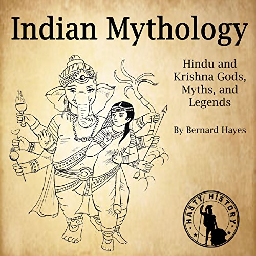Indian Mythology audiobook cover art