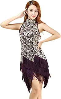 7308cd548 Amazon.es: vestidos baile latino - Morado