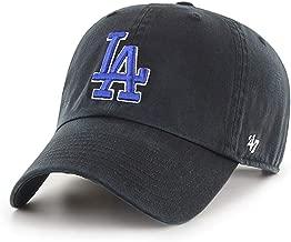 '47 Brand Los Angeles LA Dodgers Clean Up Hat Cap Black/Royal Blue