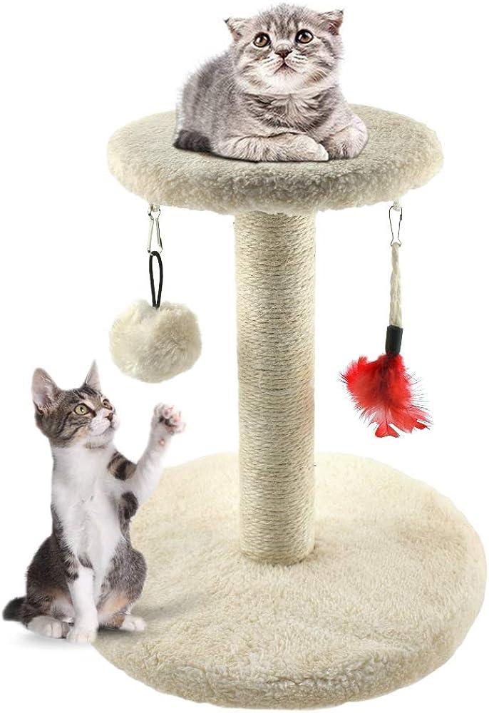 Zubita, giocattolo tiragraffi per gatti, albero tiragraffi 224932-DE