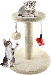 Zubita Rascadores para Gatos, Árbol para Gatos Arañazo