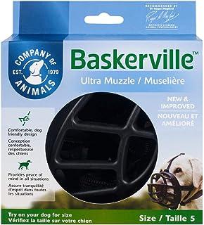 comprar comparacion Baskerville Ultra - Bozal de goma, Negro, Talla 5 (Longitud: 11 cm/Anchura: 35 cm)