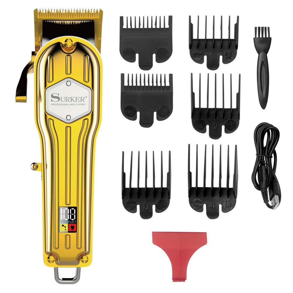 Surker Clippers Grooming Professional Rechargeable