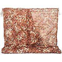 NINAT La Red de Camuflaje 2Mx3M para el Redes Camuflaje Desierto Cubierta de Camuflaje la Caza o la Cubierta