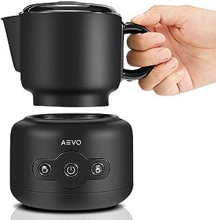 AEVO Milk Frothing Machine, Automatic Electric Milk Warmers and Foam Maker, Dishwasher Safe Detachable Pitcher, Milk Steam...