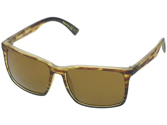 VonZipper  Lesmore Polarized (Marshland/Wildlife Bronze Polarized) Sport Sunglasses