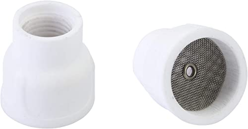wholesale RX WELD popular popular #12 Ceramic (Twin Pack) White TIG Welding Cup outlet sale
