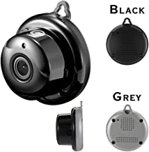 Mini IP Camera, 960P HD 2.8mm Wireless Mini WiFi Night Vision Smart Home Security with Motion Detection Two-Way Talking Supply (Black)