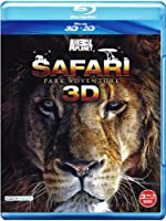 Safari Park Adventure 3D (3 Blu-Ray 3D) [Italian Edition]