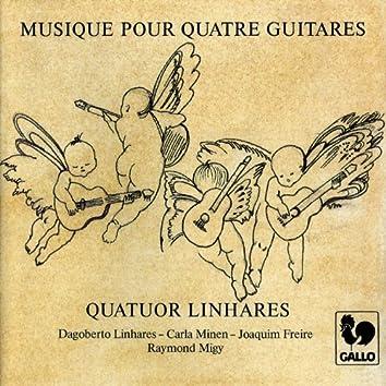 Dowland, Ravel, van der Staak, Duarte, Piazzolla, Gragnani, Granados, Falla & Joplin: Music for 2, 3 & 4 Guitars