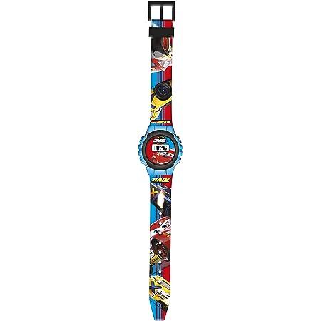 Kids Licensing |Reloj Digital Niños | Reloj Cars |Diseño Personajes Disney |Reloj Infantil Resistente | Reloj de Pulsera Infantil Ajustable| Bisel Reforzado | Reloj de Aprendizaje | Licencia Oficial