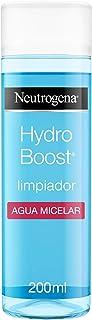 Neutrogena Hydro Boost Limpiador Agua Micelar Hidratante, 200 ml