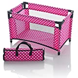Molly Dolly - Box Lettino per Bambole con Borsa...