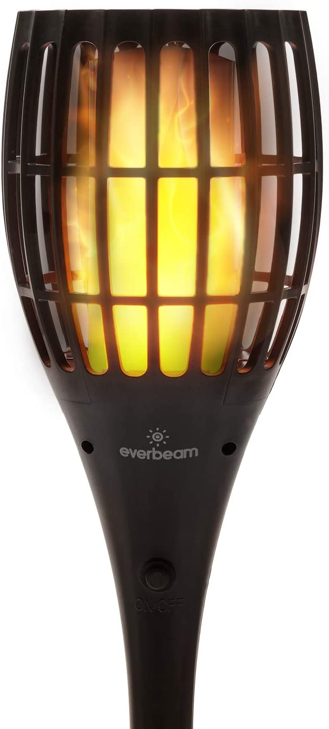 Everbeam P1 store Solar Torch Light Free shipping with Flickering - Our Waterp Flame