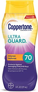 Coppertone Limited Edition ULTRA GUARD SPF 70 Sunscreen Lotion (8 Fluid Ounce) (Packaging may vary)