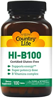 Country Life Super Potency HI-B100-100 Tablets