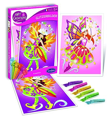 Sentosphere - Papierbastelsets für Kinder in Blumenfeen, Größe One Size