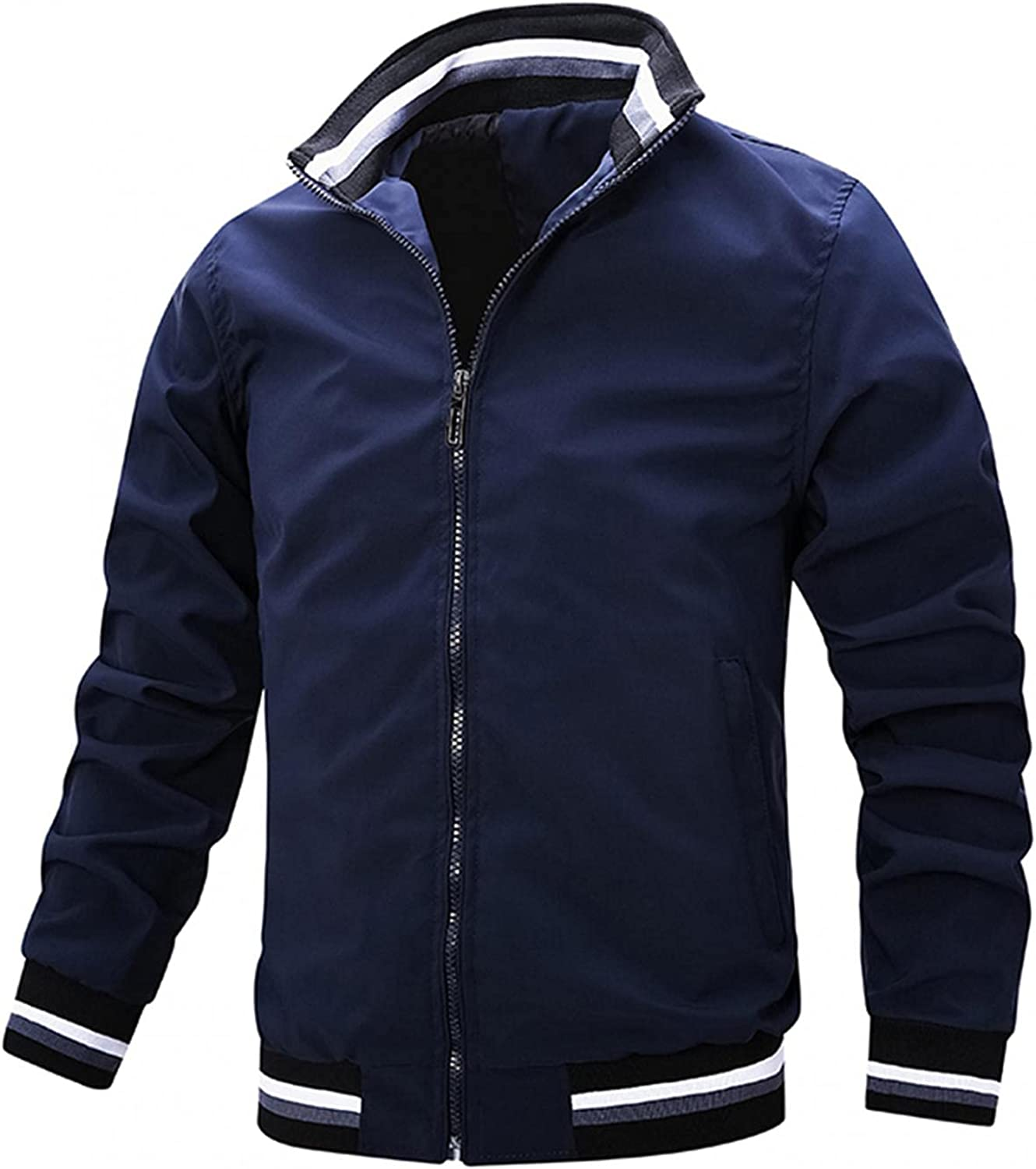 Sales of SALE items from new works AKIMPE Men's OFFicial AutumnWinter Casual Zipper Tops Jackets waterproof