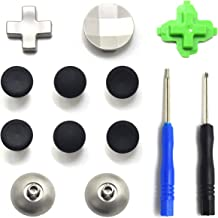 TOMSIN Metal Magnetic Thumbsticks Analog Joysticks for Xbox one Controller, T8 Screwdrivers Replacement Repair Kit for Xbox One X One S Elite Controller (11 in 1)